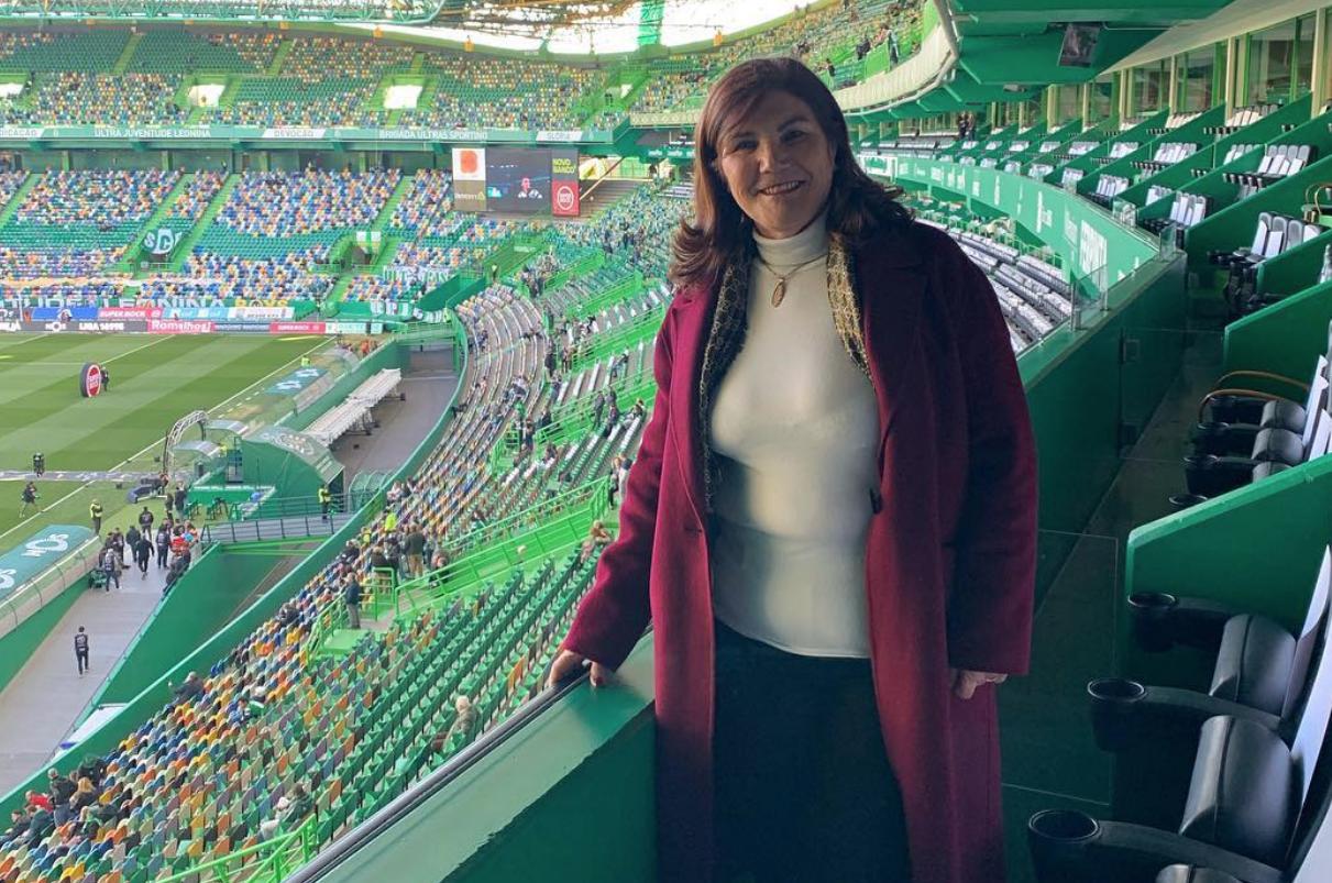 Dolores Aveiro e Cristiano Ronaldo inseparáveis