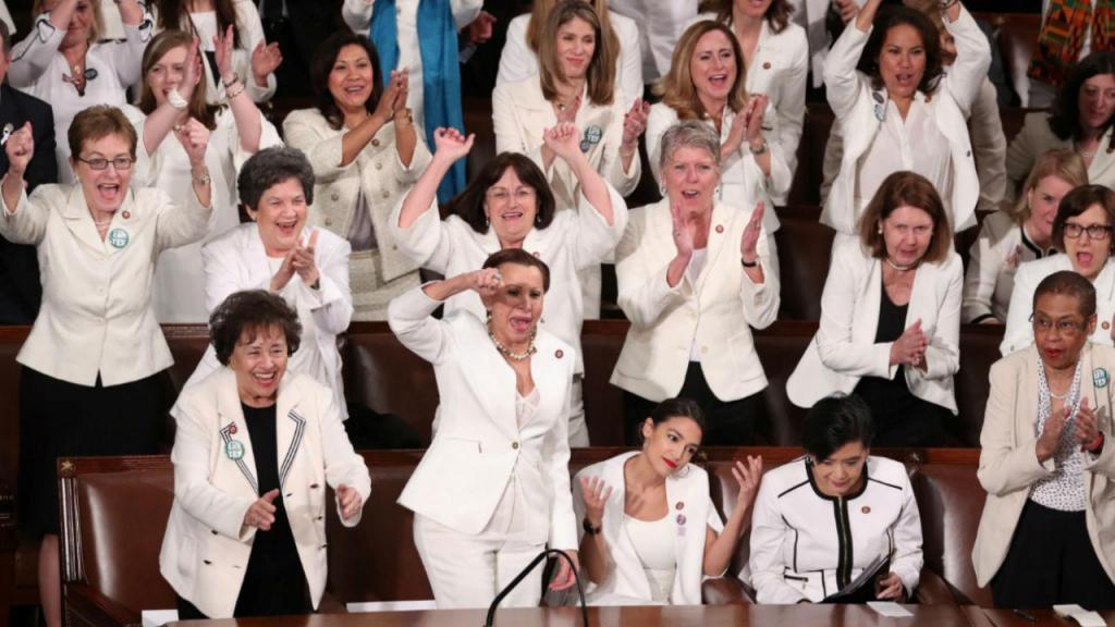 Congressistas do Partido Democrata no Estado da União