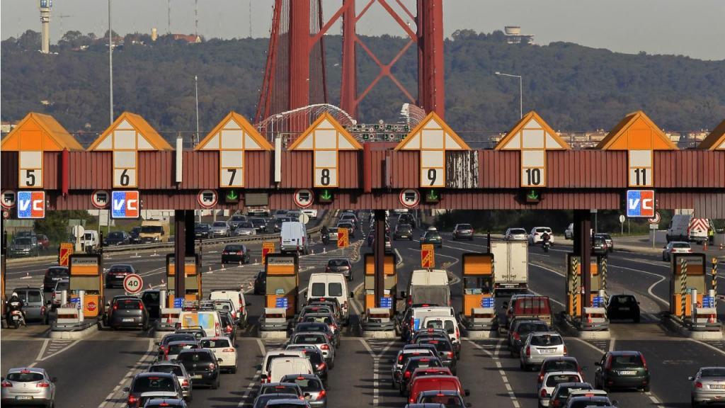 Portagens - Ponte 25 de Abril (arquivo)