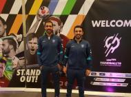 Ricardo Fonseca e Duarte Santos - árbitros andebol