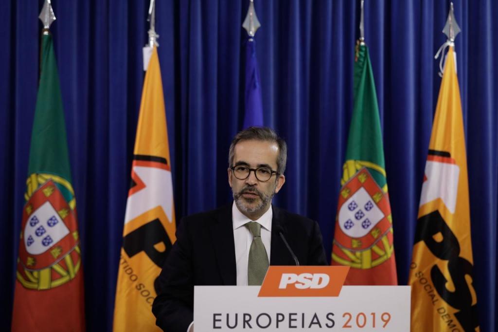 Paulo Rangel, cabeça de lista do PSD às Europeias