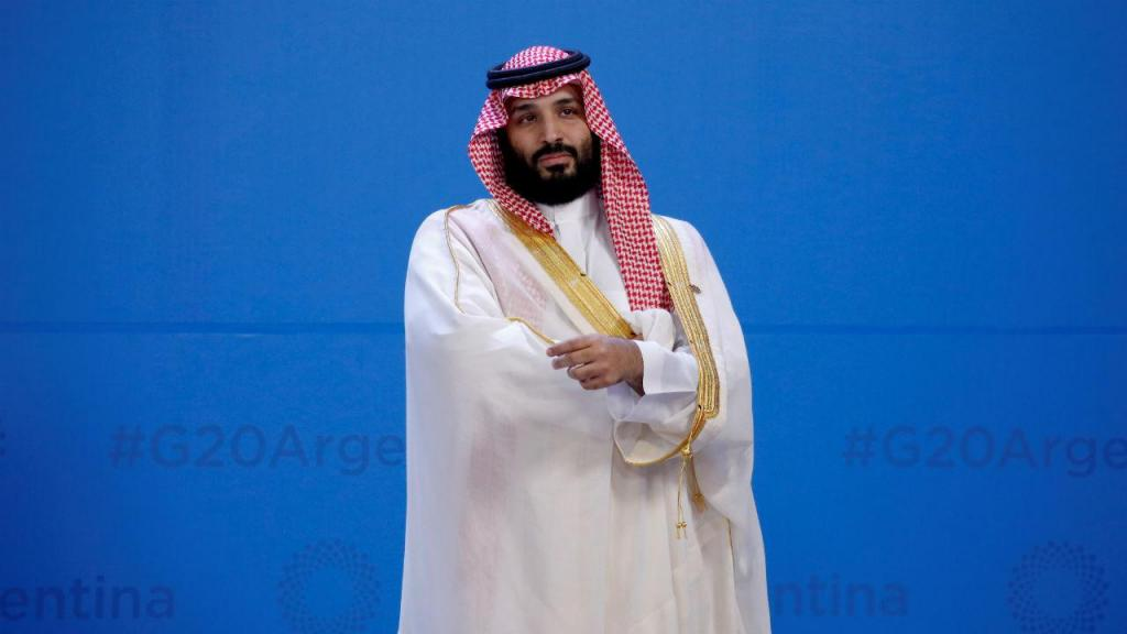 Mohammed bin Salman, príncipe herdeiro da Arábia Saudita