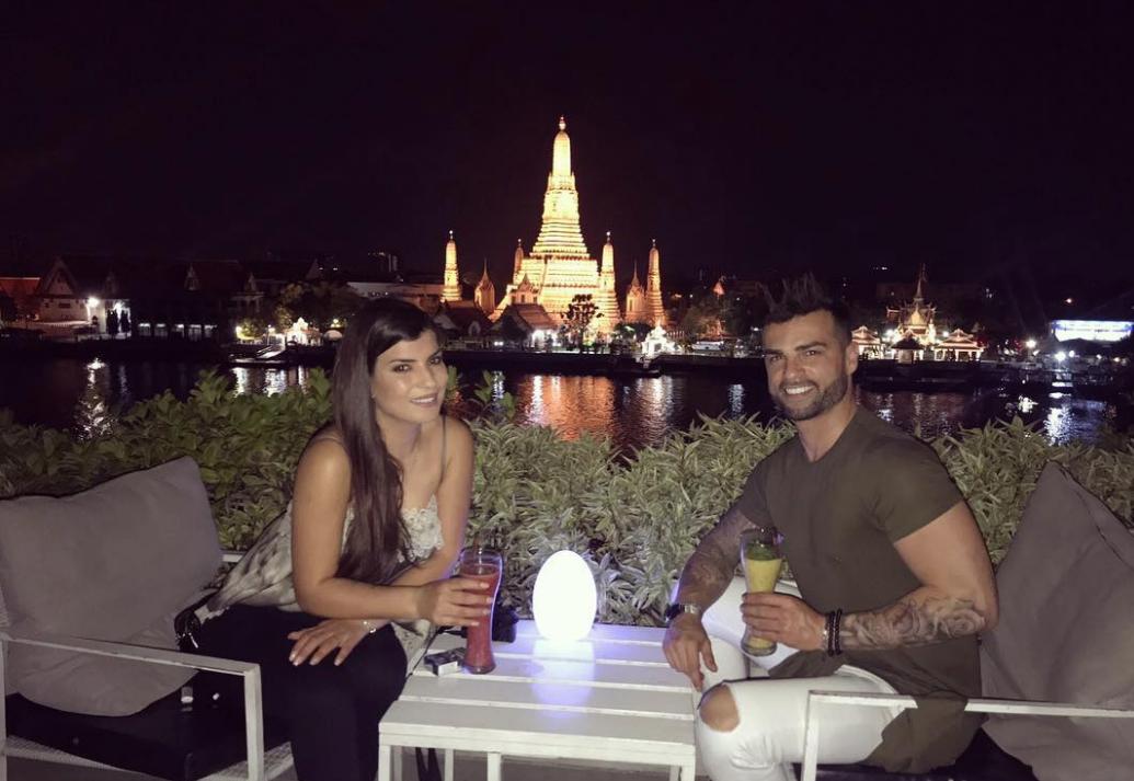 Sofia Sousa e o namorado de férias na Tailândia