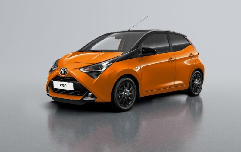 Novo Toyota AYGO x-cite