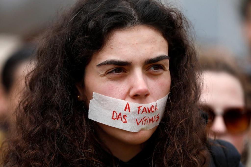 Marcha silenciosa contra a violência doméstica