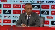 «Em 1938 o Nacional perdeu aqui 9-0. Hoje conseguimos perder 10-0»