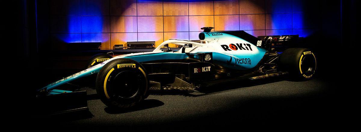 Williams FW42 (imagem Williams Racing)