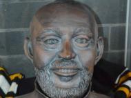 Busto de Nuno Espírito Santo (foto Tettenhall Transport Heritage Centre)