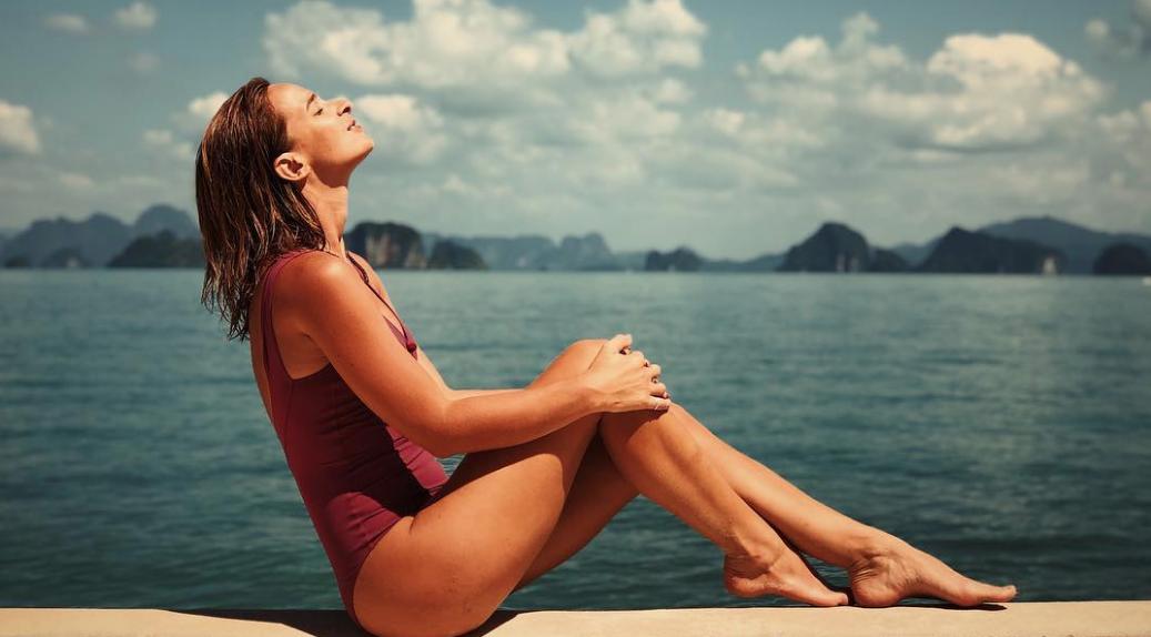 Sara Prata de férias na Tailândia