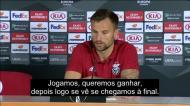 Seferovic: «Ainda não pensamos na final da Liga Europa»
