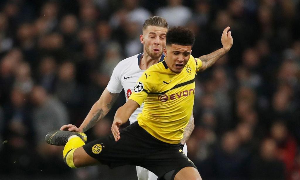 6.º: Jadon Sancho (Borussia Dortmund, 148.3 ME)
