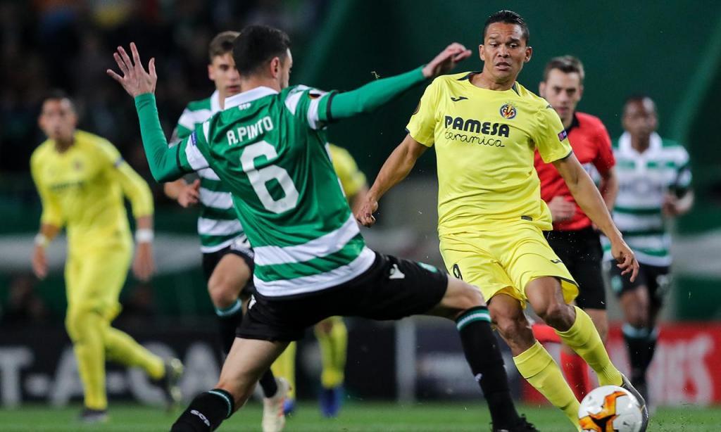 LE: Sporting perde em casa com o Villarreal