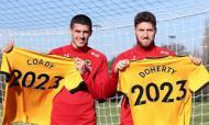Conor Coady e Matt Doherty (Wolverhampton)