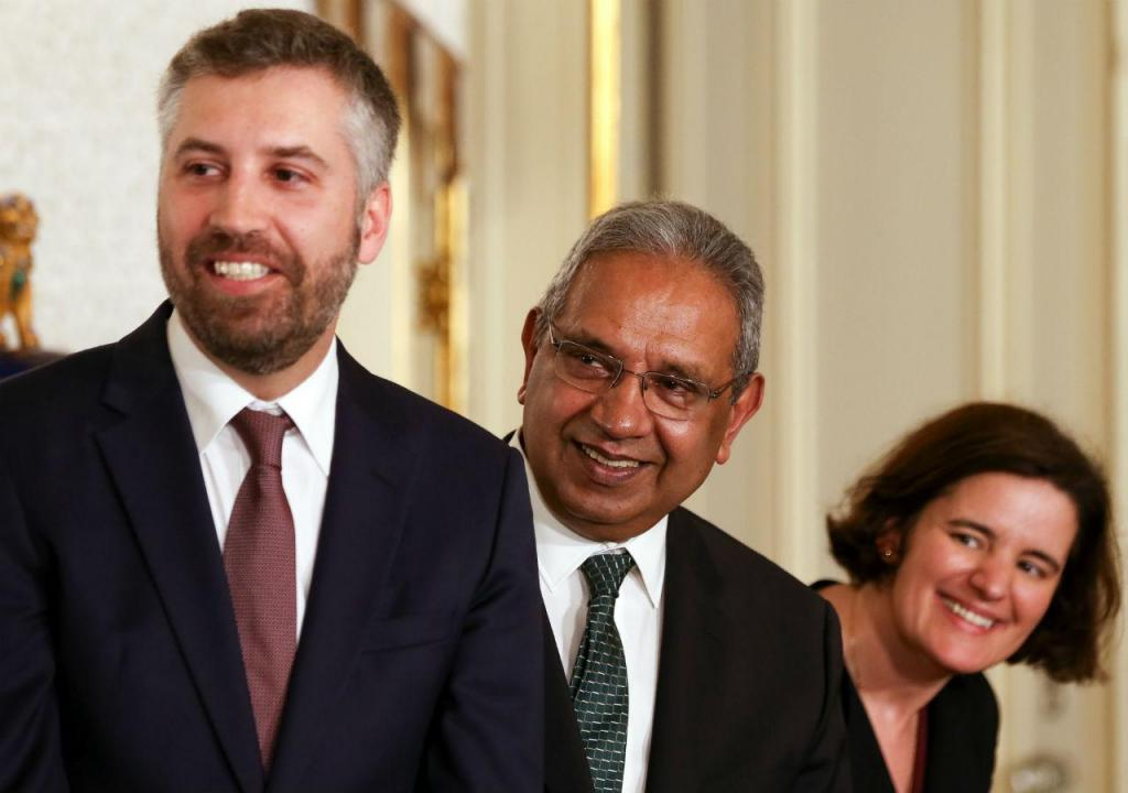 Pedro Nuno Santos, Nelson Souza e Mariana Vieira da Silva