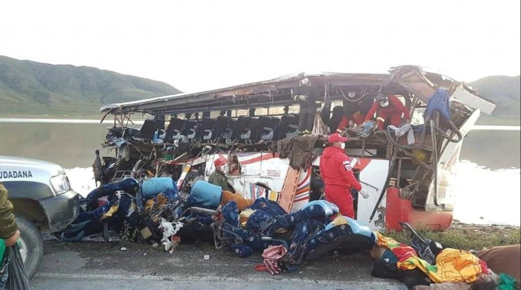 Bolívia - desastre em Oruro