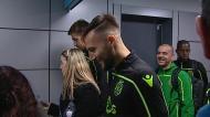 As imagens da partida do Sporting para Villarreal