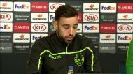 Bruno Fernandes: «Perguntei ao Acuña se queria bater o livre frente ao Sp. Braga»