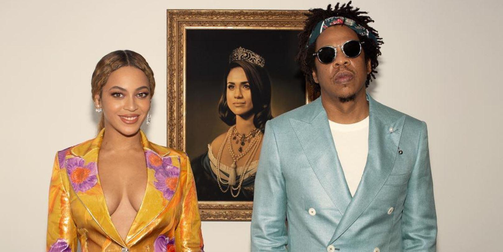 Beyoncé veste roupa da marca portuguesa Marques'Almeida