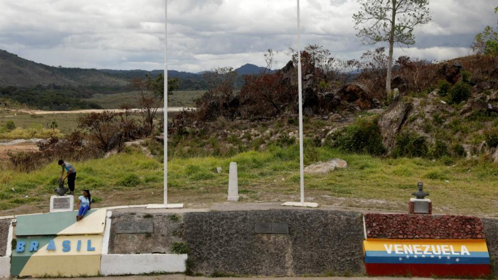 Fronteira Venezuela e Brasil