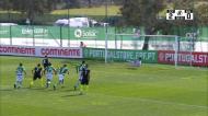 Os golos do empate entre Sporting e Rio Ave para a Liga Revelação