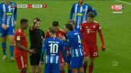 Expulsão ao jeito do wrestling no Bayern Munique-Herta