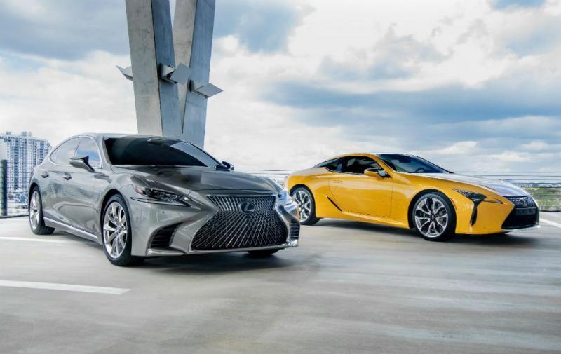 Lexus LS e LC