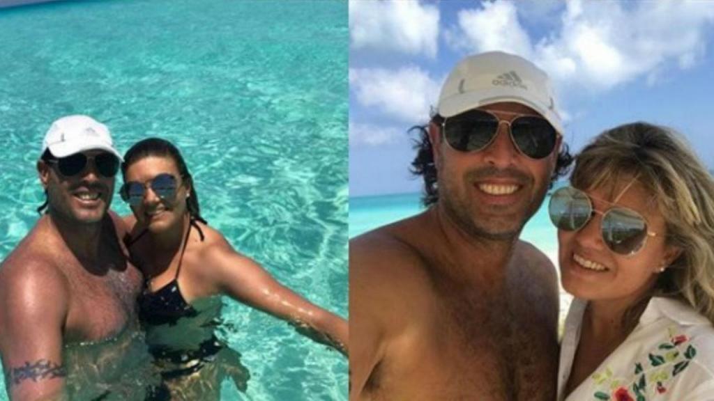 Carlos Bossio e a mulher