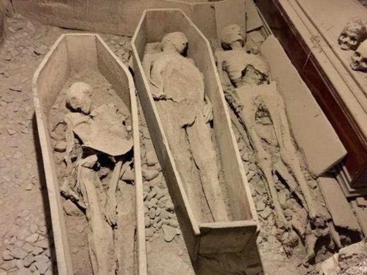 Cripta de igreja em Dublin foi vandalizada