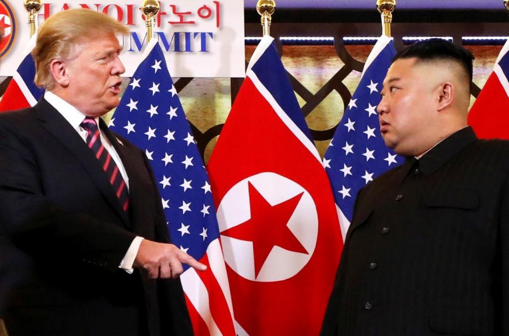 Kim e Trump encontram-se num hotel de Hanoi