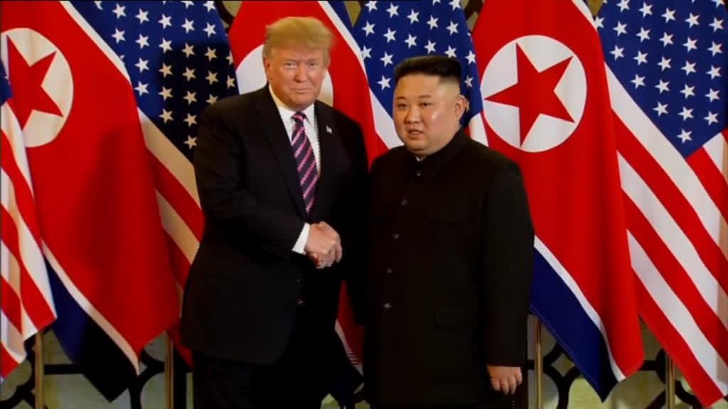 Kim contou os dias para o reencontro com Trump