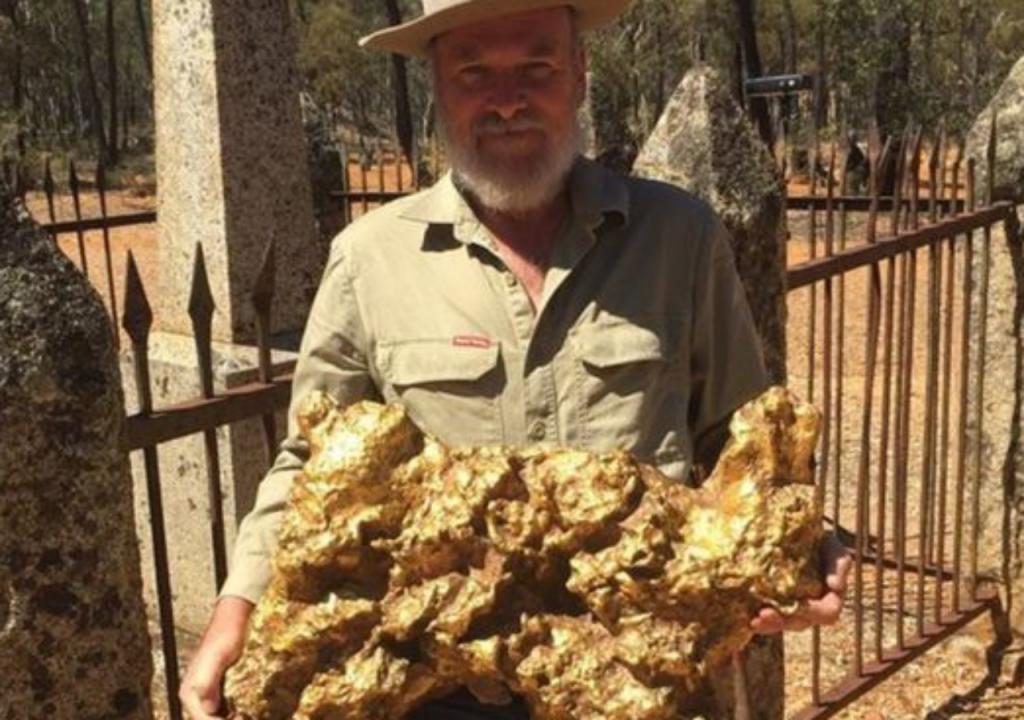 A maior pepita de ouro do mundo