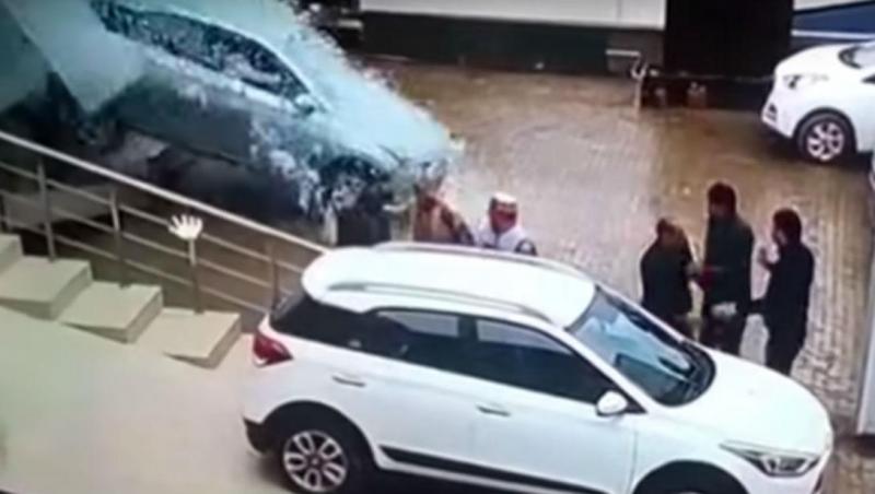 Acidente em Mandi (reprodução YouTube)
