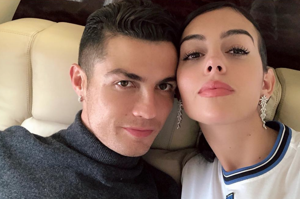 Georgina Rodríguez declara-se a Cristiano Ronaldo após noite de glória