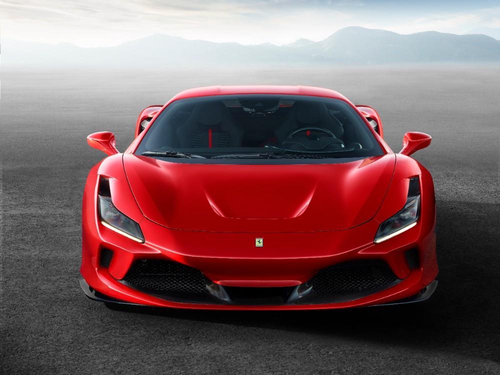Novo Ferrari F8 Tributo