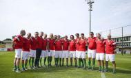 Campeões de Riade estiveram juntos na Cidade do Futebol