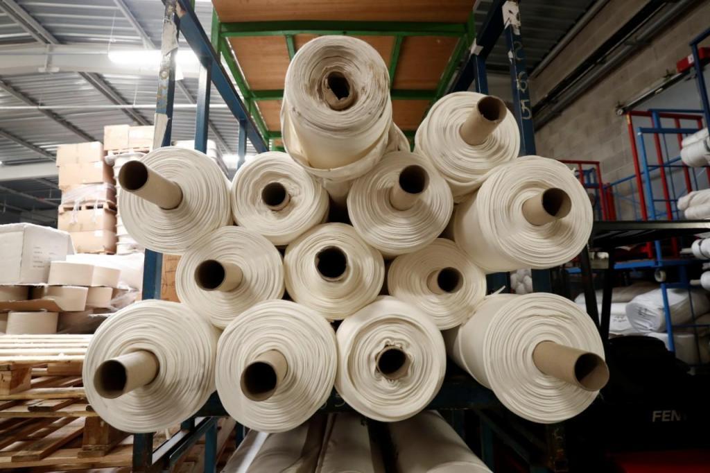 Fábrica de têxteis