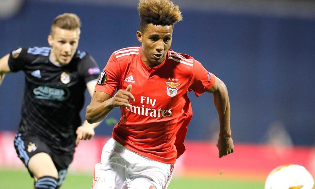 Gedson, do Benfica para o Tottenham por empréstimo (4 milhões)