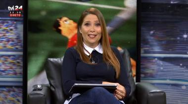 Cláudia Lopes de volta ao programa Maisfutebol
