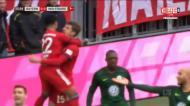O resumo da goleada do Bayern ao Wolfsburgo