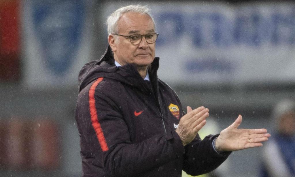 Ranieri no Roma-Empoli (EPA/MAURIZIO BRAMBATTI)