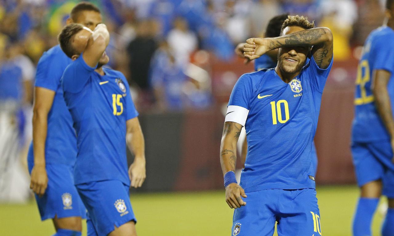 Neymar e Arthur (Reuters)