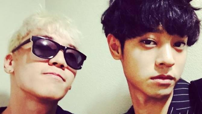 Seungri e Jung Joon-young