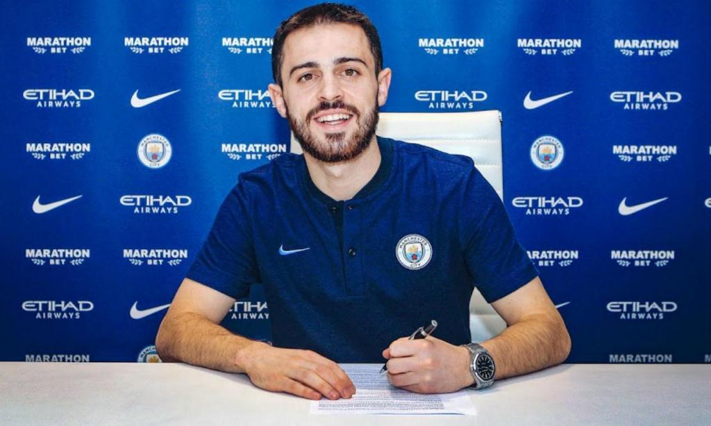Bernardo Silva renova com o Manchester City