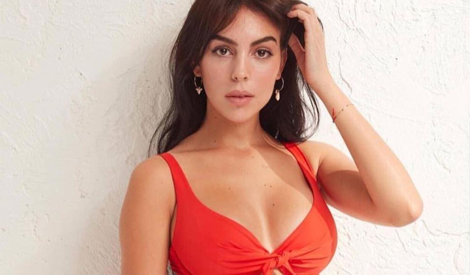 Georgina Rodríguez na Selfie