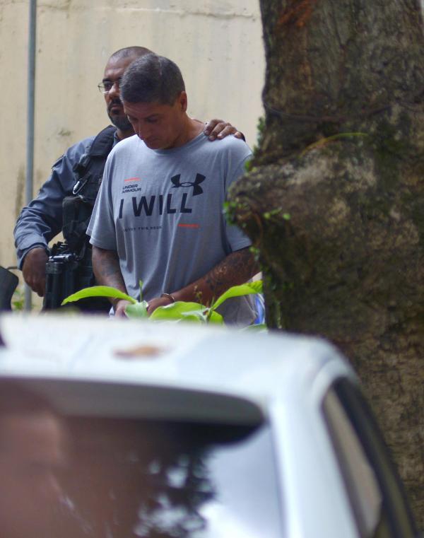 Ronnie Lessa preso. Foto: Reuters