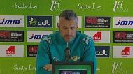 «Os jogadores vão estar com a confiança máxima»