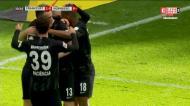 Jovic abre, Kostic assiste e Hinteregger faz o golo do Eintracht