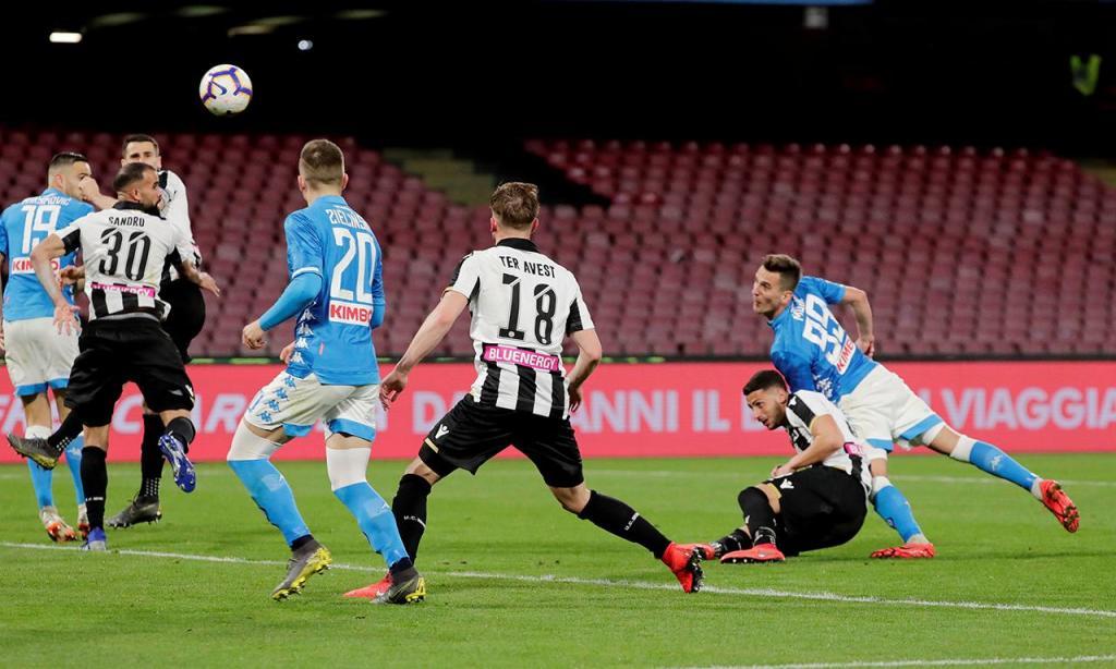Nápoles-Udinese