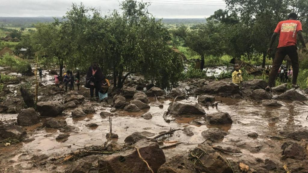 Ciclone Idai, Moçambique