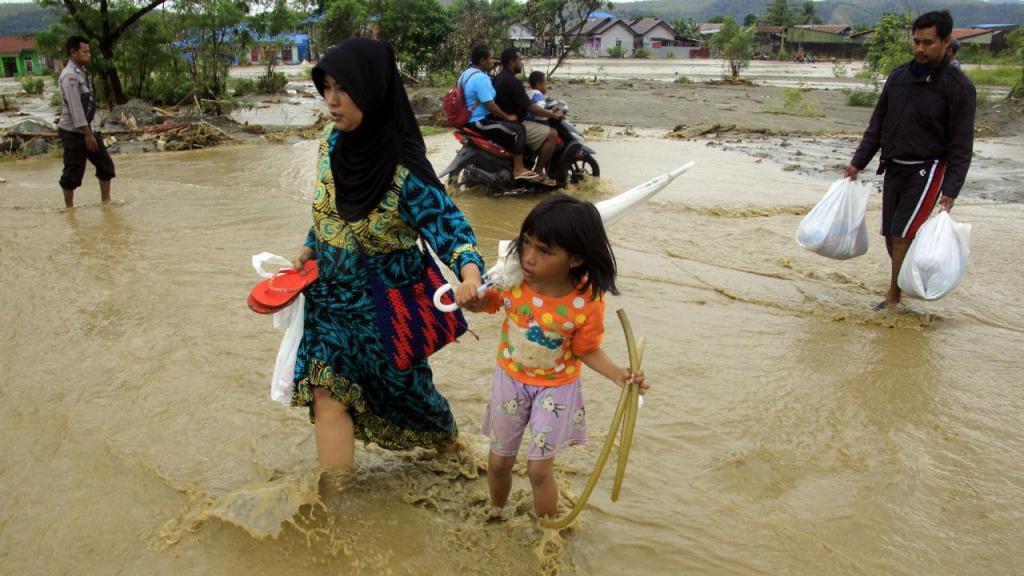 Inundações Indonésia